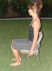 sitting exercise for back position imag