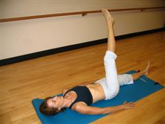 pilates leg circles image
