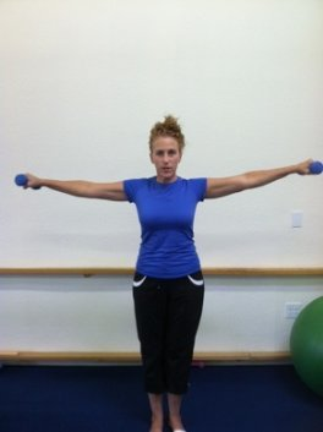 shoulder side arm raise image