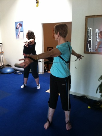 Pilates spine twist image