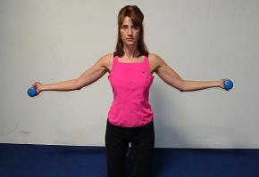 shoulder external rotation with abduction image