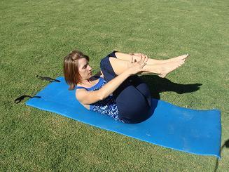 pilates rolling like a ball image