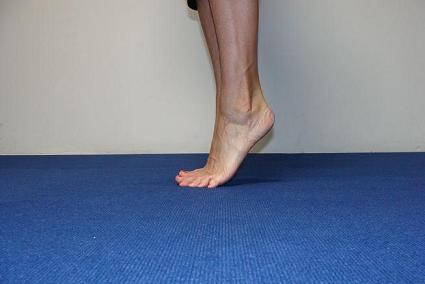foot exercise heel lifts image