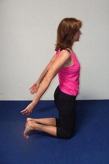 anterior shoulder stretch image