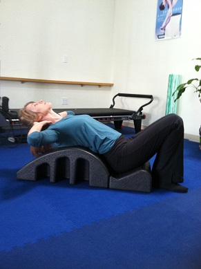 pilates spine exercise image