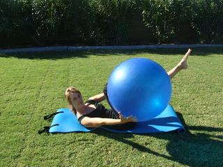 abdominal exercise ball imag