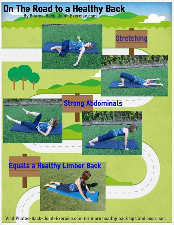 pilates back exercise image
