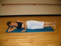 pilates hip joint exercise image
