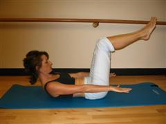 Pilates ebook exercise picture