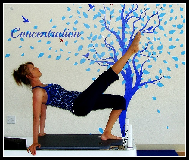 pilates concentration exercise image