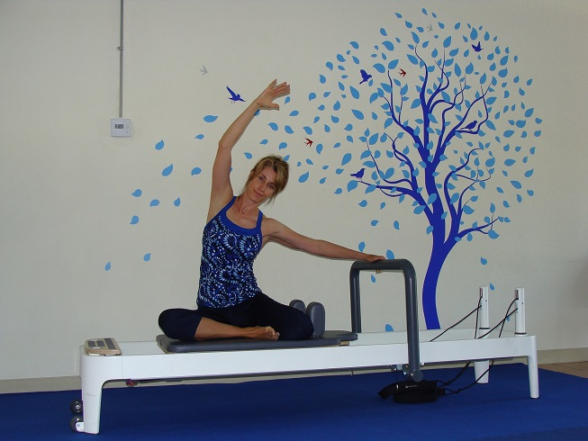 Pilates Reformer Side Stretch image