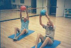 pilates exercise for elderly imag