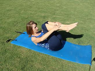pilates rolling exercise image