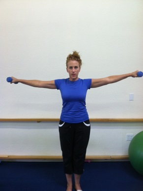 shoulder side arm raise image