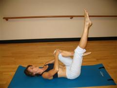 pilates stretch exercise image