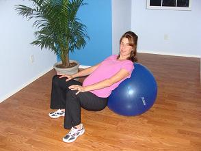 Exercise Ball During Pregnancy