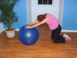 ball exercise during pregnancy image
