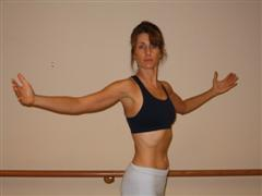 pilates spine twist exercise image