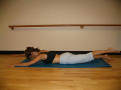 pilates for back strength image