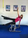 Pilates on the Chair with The Tye 4