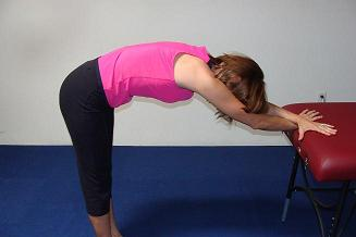 upper back pain stretch image