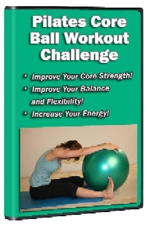 Check Out Our New Pilates Core Ball Workout Dvd For A Great