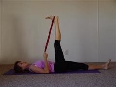 hamstring stretch image