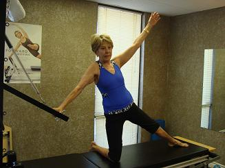 pilates for women stretch image