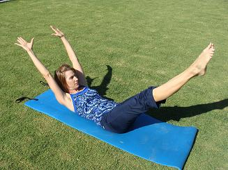 pilates ab exercise image