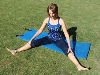 pilates wide leg stretch image