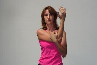 posterior shoulder stretch image