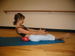 pilates beginner exercise image