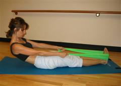 pilates roll up with band image