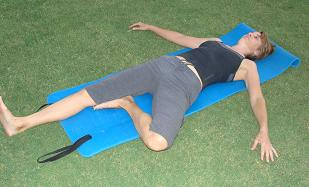 sciatica stretch pose image