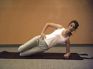 pilates side plank image