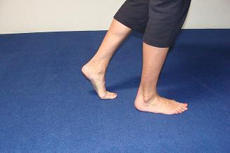 Sore knees and flat feet